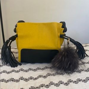 Handbags - Mustard Mini Bag